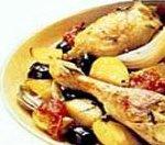 Receta de muslos de pollo o pavo al limón