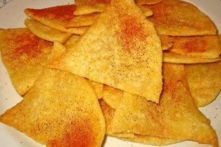Receta de nachos al horno con pimentón