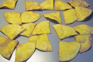 Receta de nachos de tortillas