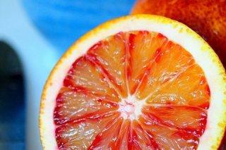 Receta de naranja confitada con chocolate