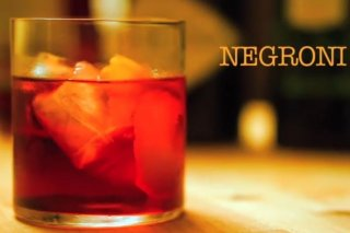 Receta de negroni cocktail