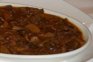 Receta de níscalos en salsa con jamón