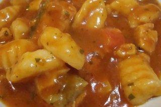 Receta de ñoquis con salsa