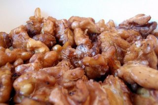 Receta de nueces garrapiñadas