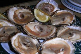 Receta de ostras al limón