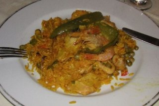 Receta de paella light