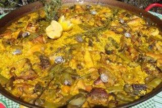 Receta de paella valenciana auténtica