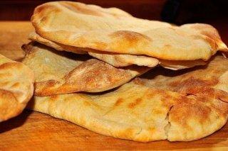 Receta de pan árabe