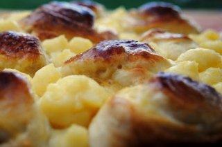 Receta de pan brioche con crema pastelera