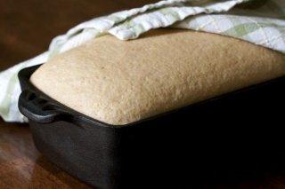 Receta de pan casero al microondas