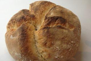 Receta de pan casero con masa madre natural