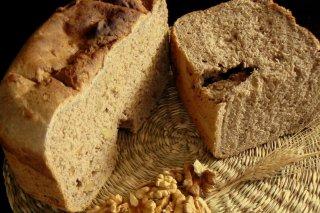Receta de pan de miel y nueces