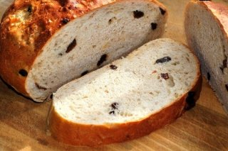 Receta de pan de pasas