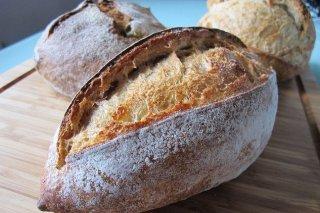 Receta de pan de puño