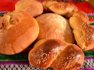 Receta de pan de yema