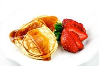 Receta de pancake americano