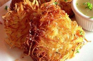 Receta de pancakes de patata