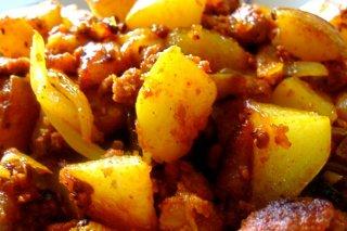 Receta de papas con chorizo al horno