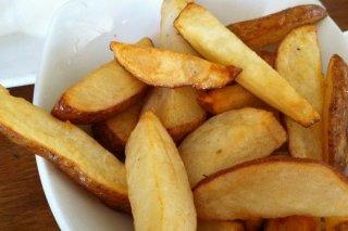 Receta de papas fritas