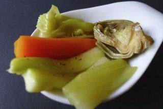 Receta de papillote de verduras