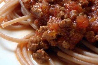 Receta de pasta con carne molida