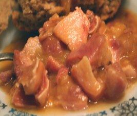 Receta de pasta con oreja de cerdo