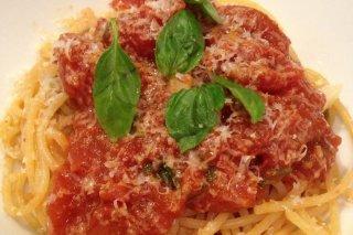 Receta de pasta con salsa de tomate chunky