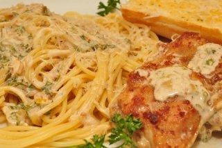 Receta de pasta con pollo y salsa boloñesa