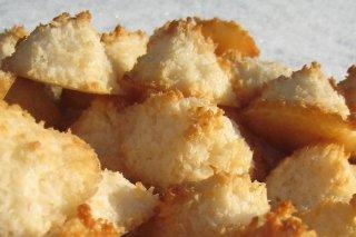Receta de pastas de coco
