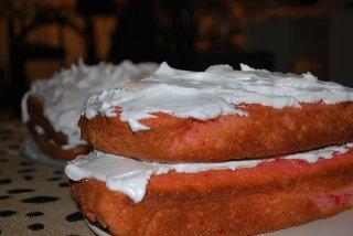 Receta de pastel avainillado con buttercream