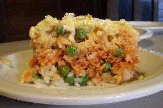 Receta de pastel de arroz