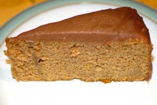 Receta de pastel de calabaza, higos y chocolate