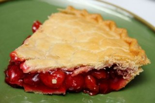 Receta de pastel de cerezas y granadina