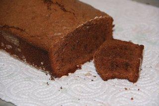 Receta de pastel de chocolate y calabaza