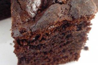 Receta de pastel de chocolate y dátiles