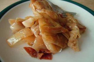 Receta de pastel de col y bacón