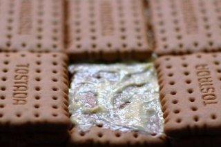 Receta de pastel de galleta al limón