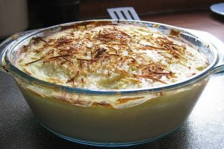 Receta de pastel de patata al horno