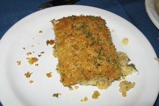 Receta de pastel de pescado y verduras