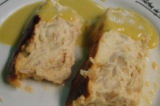 Receta de pastel de puerros y pan