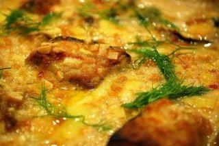 Receta de pastel de puré de patatas con espinacas y atún