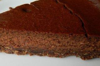 Receta de pastel de queso y chocolate sin horno