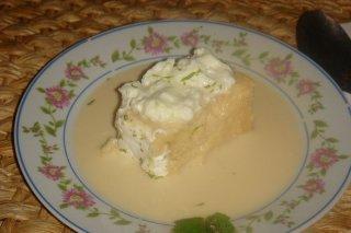 Receta de pastel frío de merluza y guisantes