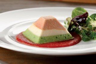 Receta de pastel tíbio de tres verduras