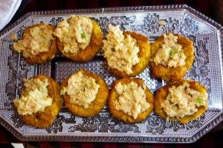 Receta de patacón con queso