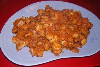 Receta de patas de calamar en salsa picante