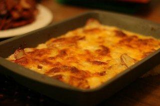 Receta de patatas al gratén