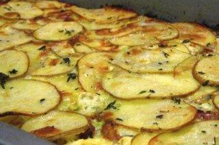 Receta de papas al horno a la provenzal