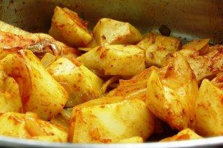 Receta de patatas asadas a la pimienta