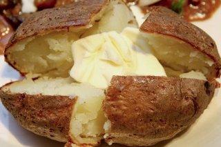 Receta de patatas asadas con mantequilla
